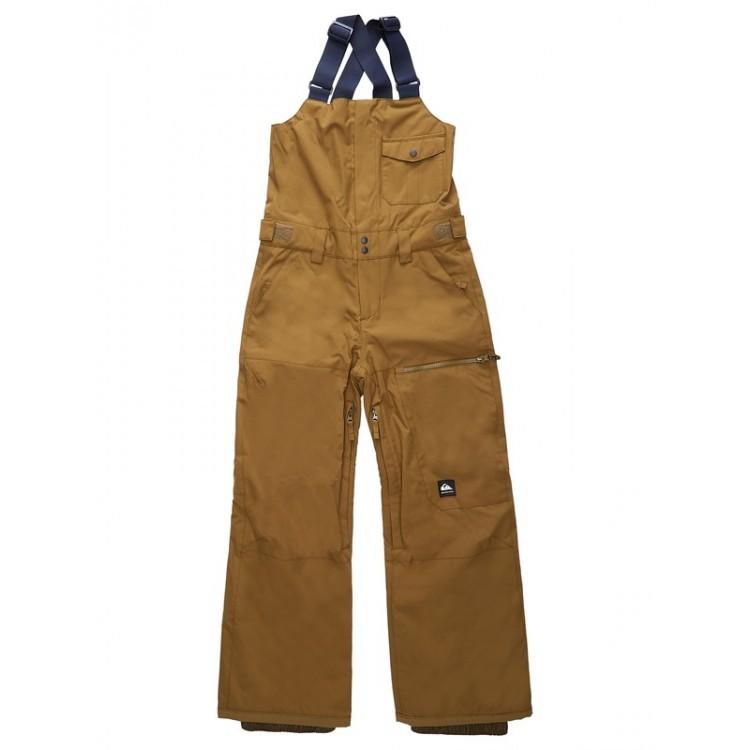 Chlapčenské lyžiarske/snowboardové nohavice Quiksilver Utility eqbtp03031 zelené