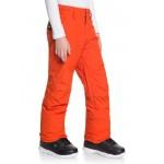Chlapčenské lyžiarske/snowboardové nohavice Quiksilver Estate eqbtp03033 červené