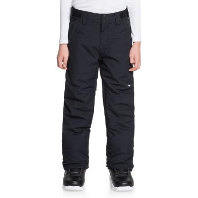 Chlapčenské lyžiarske/snowboardové nohavice Quiksilver Estate eqbtp03033 čierne
