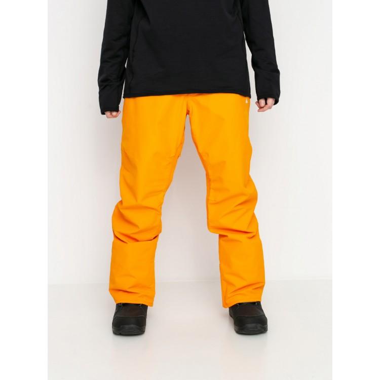 Chlapčenské lyžiarske/snowboardové nohavice Quiksilver Estate eqbtp03033 oranžové