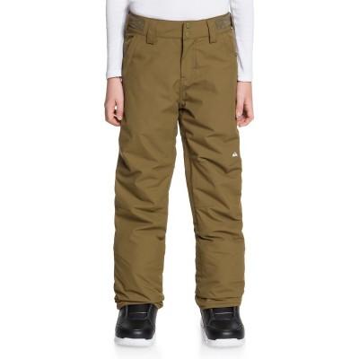 Chlapčenské lyžiarske/snowboardové nohavice Quiksilver Estate eqbtp03033 zelené