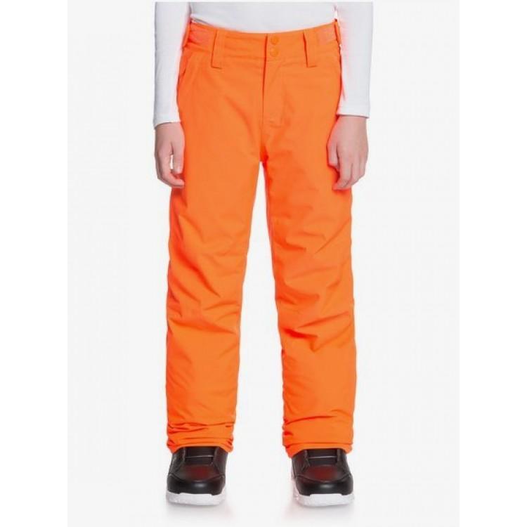 Chlapčenské lyžiarske/snowboardové nohavice Quiksilver Arcade eqbtp03034 oranžové
