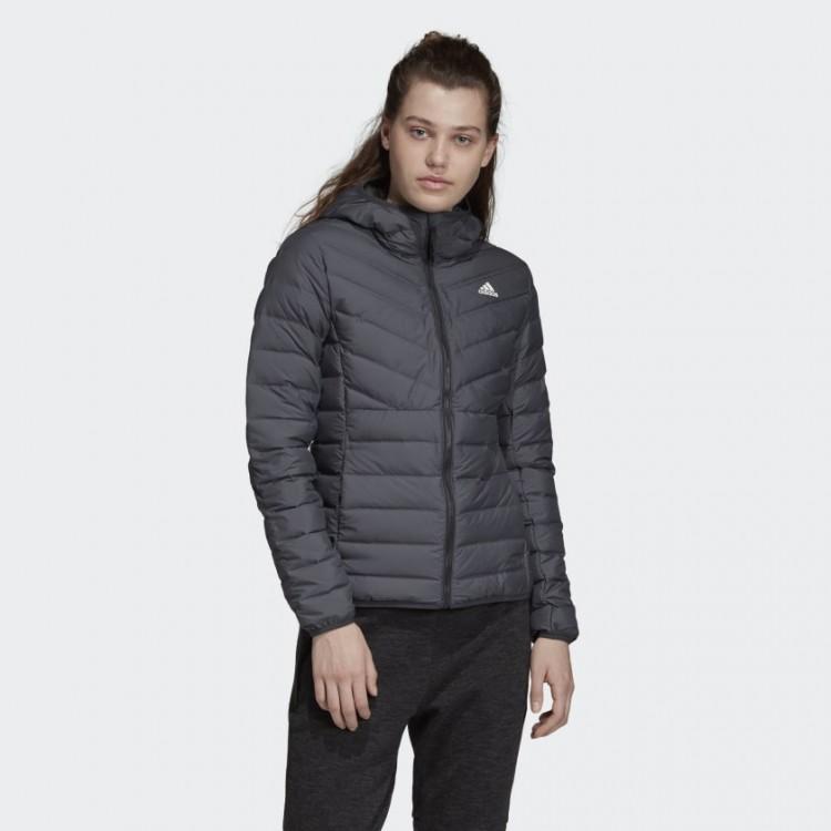 Adidas dámska bunda W Varilite 3 SH j DZ1520 carbon