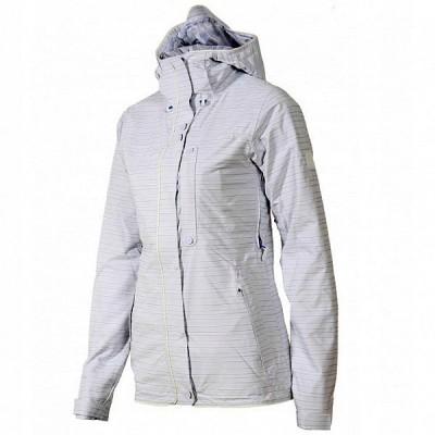 Adidas Originals dámska bunda W Slub Stripe J G88891 white/cleargrey