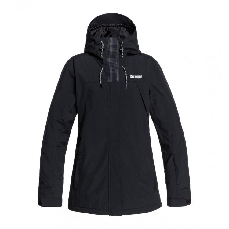 DC dámska lyžiarska/snowboardová bunda Gemini adjtj03002 black (kvj0) čierna