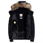 Roxy dámska bunda Jet Ski Solid true black erjtj03266 čierna