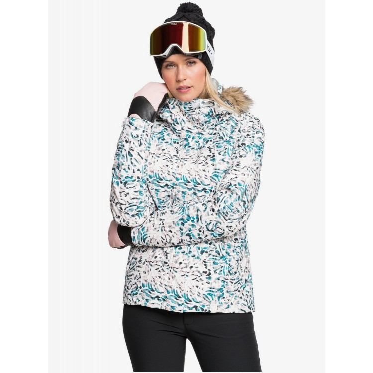 Roxy dámska bunda Jet Ski bright white izi erjtj03265