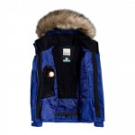 Roxy dámska bunda Jet Ski serjtj03266 modrá
