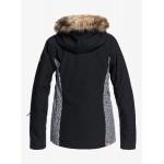 Roxy dámska bunda Jet Ski true black pop animal erjtj03265