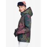 Roxy dámska lyžiarska/snowboardová bunda Jetty erjtj03280 neon fern