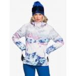 Roxy dámska lyžiarska/snowboardová bunda Jet Ski SE erjtj03287 bright white pyrennes biela potlač