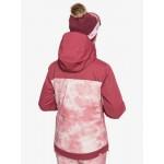 Roxy dámska lyžiarska/snowboardová bunda Jetty erjtj03279 block silver pink tie dye mfc1 ružová potlač
