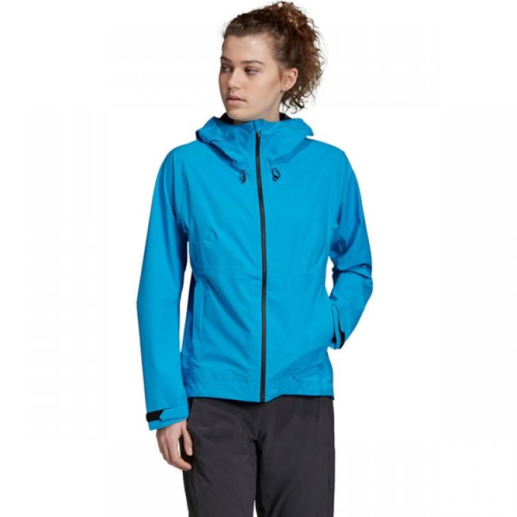 Dámska bunda Adidas Terrex Swift Rain DT4175 modrá