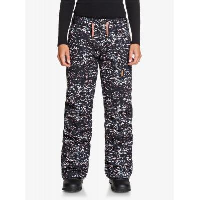 Dámske lyžiarske/snowboardové nohavice Roxy Nadia Printed serjtp03133 čierne