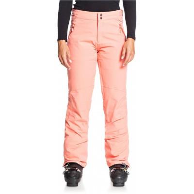 Dámske lyžiarske/snowboardové nohavice Roxy Montana rjetp03115 červené coral
