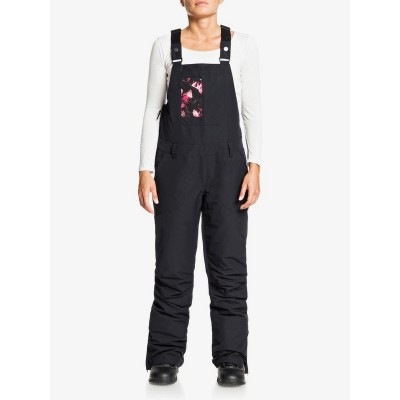 Dámske lyžiarske/snowboardové nohavice Roxy Rideout Snow Bib serjtp03116 true black čierne