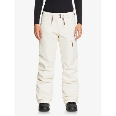 Dámske lyžiarske/snowboardové nohavice Roxy Nadia serjtp03121 angora biele