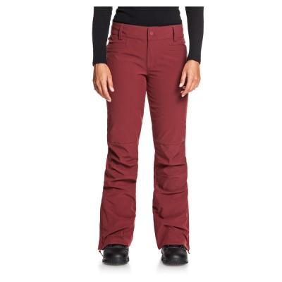 Dámske lyžiarske/snowboardové nohavice Roxy Creek Shell serjtp03123 červené