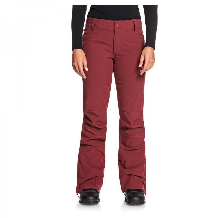 Dámske lyžiarske/snowboardové nohavice Roxy Creek Shell erjtp03123 červené
