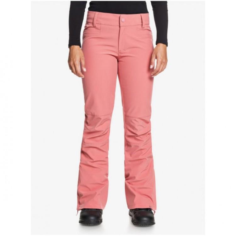 Dámske lyžiarske/snowboardové nohavice Roxy Creek Shell erjtp03123 ružové
