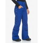 Dámske lyžiarske/snowboardové nohavice Roxy Spiral erjtp03125 modré