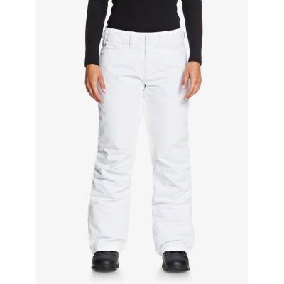 Dámske lyžiarske/snowboardové nohavice Roxy Backyard erjtp03127 biele