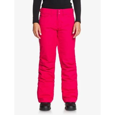 Dámske lyžiarske/snowboardové nohavice Roxy Backyard serjtp03127 jazzy červené