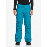 Dámske lyžiarske/snowboardové nohavice Roxy Backyard erjtp03127 modré
