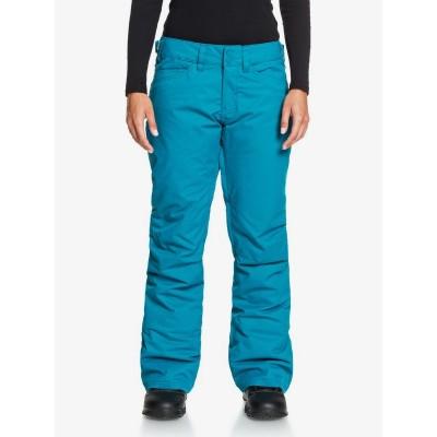 Dámske lyžiarske/snowboardové nohavice Roxy Backyard serjtp03127 modré