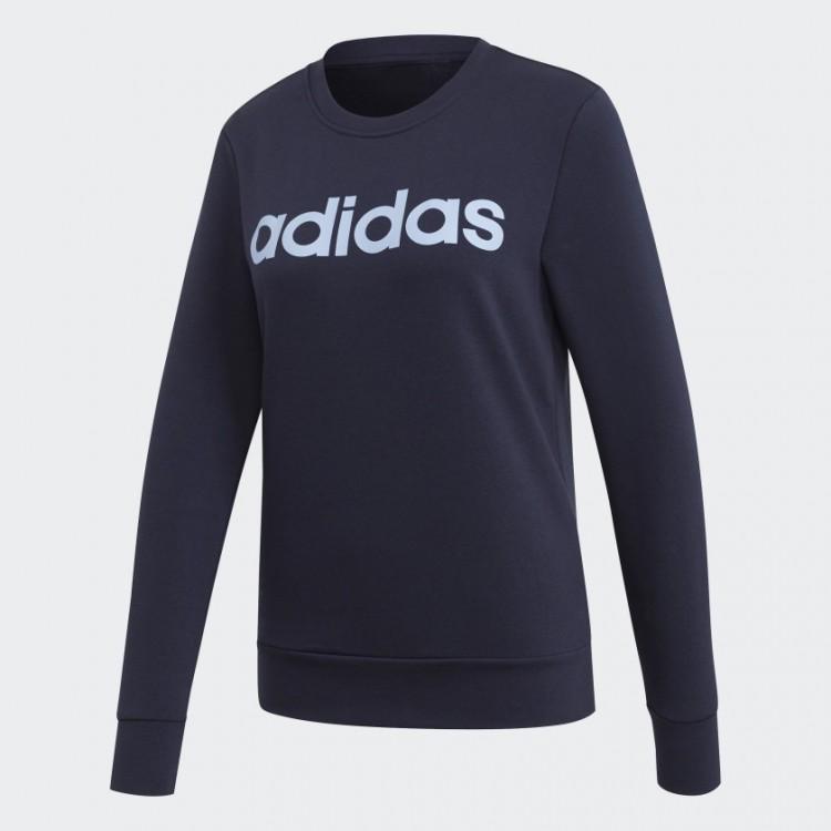 Adidas Essentials Linear Sweatshirt EI0678 modrá
