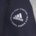 Adidas dámska mikina W SID Bomber cy5665 legin grey white