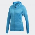 Adidas dámska mikina Terrex Trace Ro Ho FI DT4133 shocya modrá