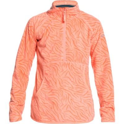 Roxy dámska mikina Cascade serjft04209 fusion coral zebra print