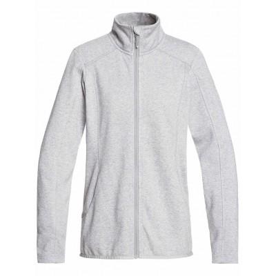 Roxy dámska mikina Harmony Zip-Up Polar Fleece serjft04208 heather grey