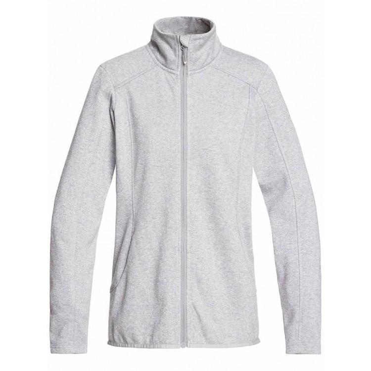 Roxy dámska mikina Harmony Zip-Up Polar Fleece erjft04208 heather grey