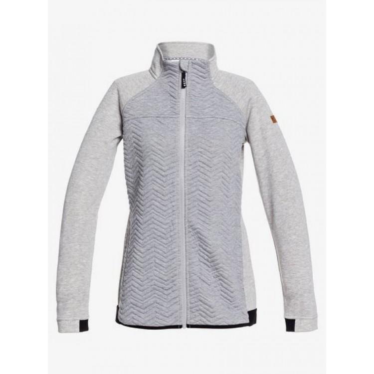 Roxy dámska mikina Limelight Zip Through erjft04258 heather grey