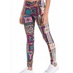Legíny Adidas Originals Crochita AY6845 farebné, vzorované