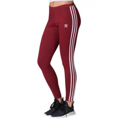 Legíny Adidas Originals 3 Str Tight CE2442 bordové