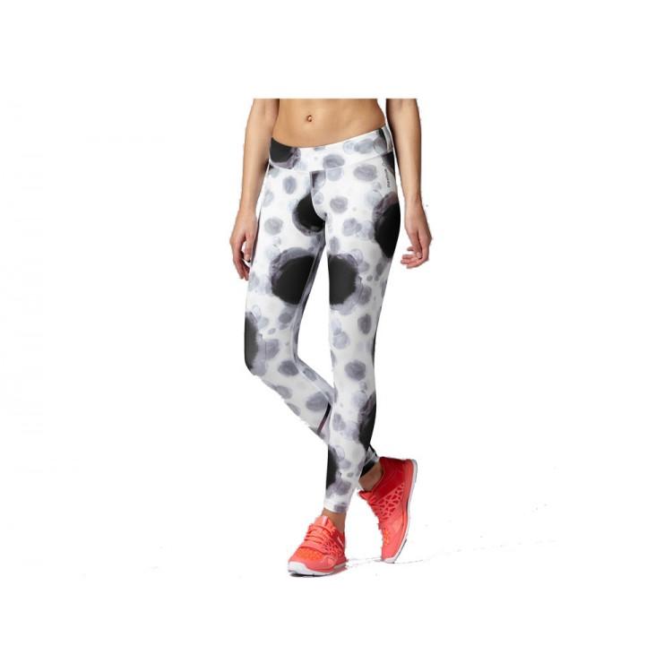 Legíny Reebok Fitness Q3 Z91107 bielo-čierne