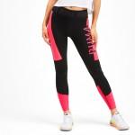 Puma legíny 7/8 Tight black-pink alert 518338-04 čierna