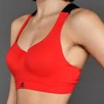 Adidas športová podprsenka Committed Chill Bra BK3113 coral pink