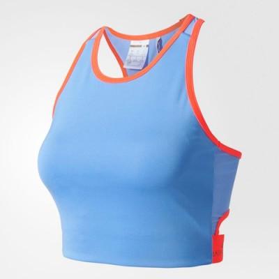 Adidas športová podprsenka Crop Bra AZ7794 neon blue