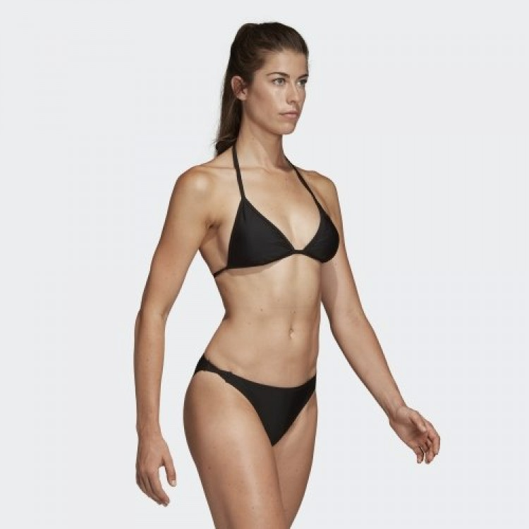 Plavky Adidas dámske Beach Triangle Bikini DQ3182 čierna