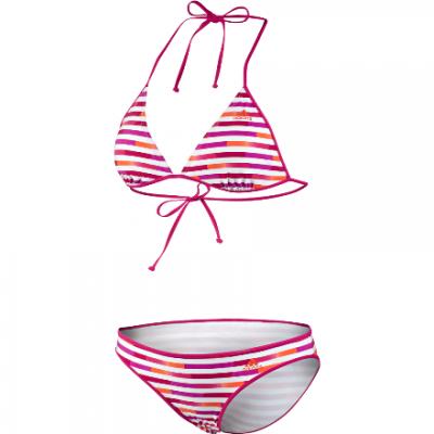Plavky Adidas dámske Gr Stripe Bi G81351 white/blastpink