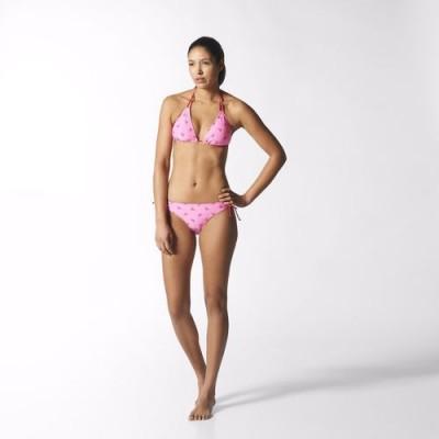 Plavky Adidas dámske S21409 so pink/vivber