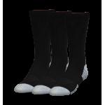 Ponožky Under Armour Heatgear Crew 3-pack 1346751 čierne