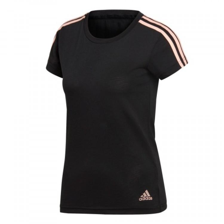 Dámske tričko Adidas Ess 3S Slim Tee DI0117 čierne