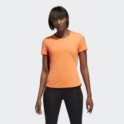 Dámske tričko Adidas Own The Run DZ2264 oranžové
