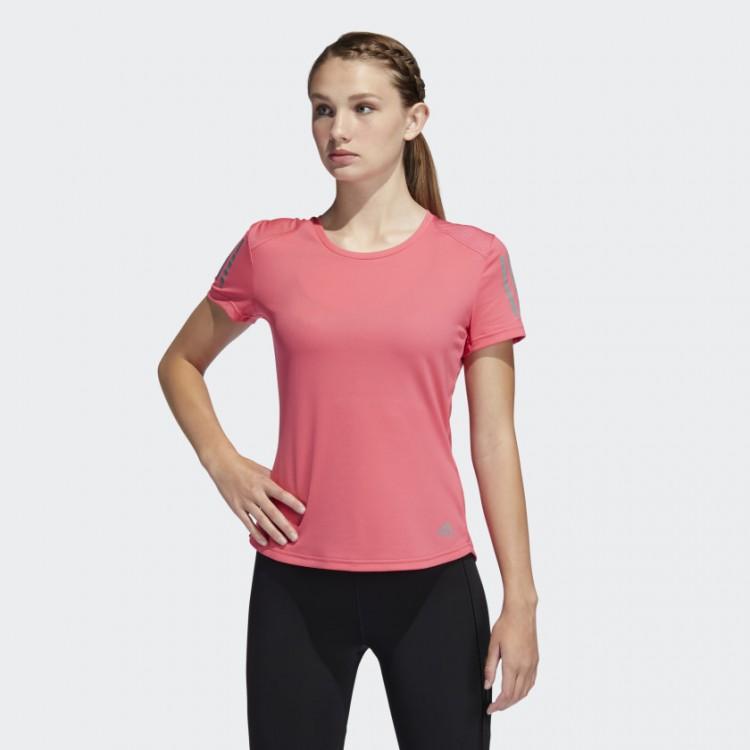 Dámske tričko Adidas Own The Run DZ2270 ružové
