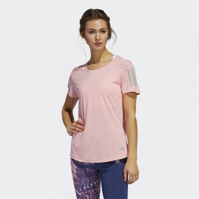 Dámske tričko Adidas Own The Run FL7815 ružové